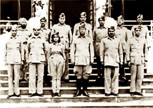 Members of the Government formed by Azad Hind Sena