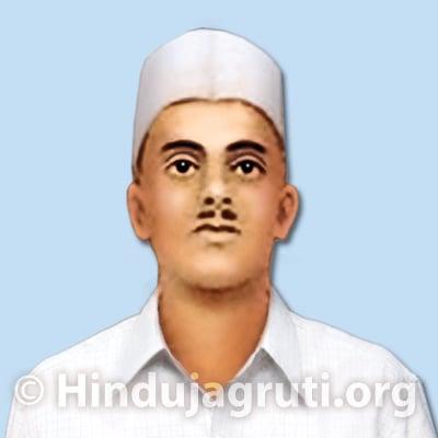Sukhdev Thapar Sukhdev Thapar A true soldier Hindu Janajagruti Samiti