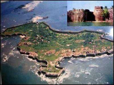 छत्रपति शिवाजी महाराजद्वारा ३५० वर्ष पूर्व निर्माण किया अभेद्य सिंधुदुर्ग किला