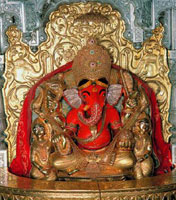 Right Sided Trunk Ganapati