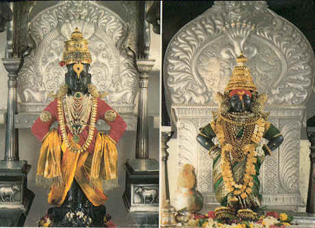 Lord Vitthal and Rukmini