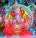 Ganesh idol made of Plaster