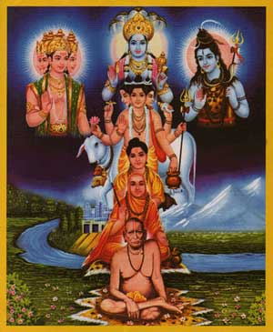 Incarnations of Lord Datta