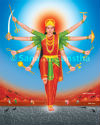 Why is active Divine Energy on ashtami equivalent to an odd date (tithi)?
