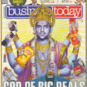 Protest : Business Today depicts cricketer MS Dhoni as Shri Vishnu