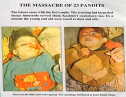 Why we need to exhibit photographs of Hindu genocide?