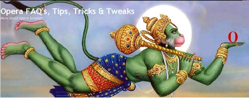 Denigration of Lord Hanuman By Opera Blogger