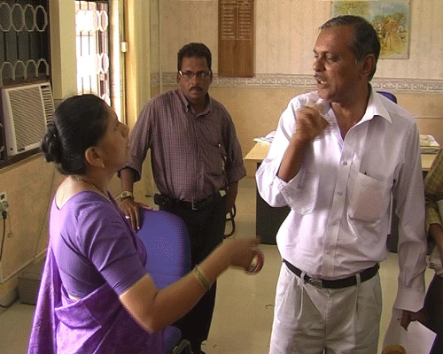 One parent of SSC student going at Chairmen room for giving him bangals