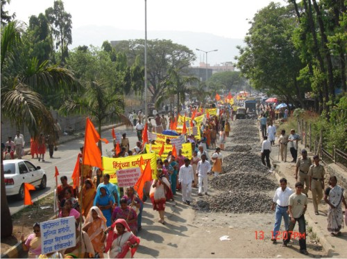 2. Thousands of Hindus participated in the Naamdindi