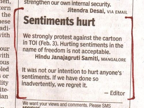 times of india editor email