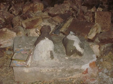 Ancient Shiva Temple destroyed by unknown anti-Hindu elements