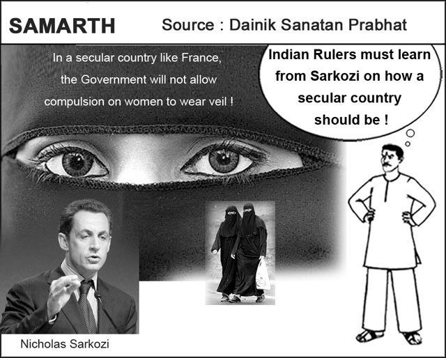 Samarth: Indian rulers should learn from Sarkozy about Secularism