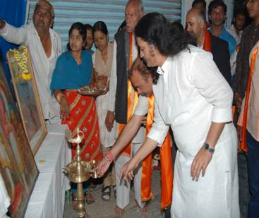 Inauguration of branch of Hindu Rashtra Sena from the hands of Dignitaries