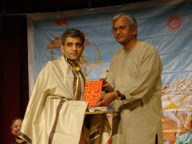 Felicitation of Dr. Sanjay Mehrotra