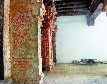 Effacement of the Murals in the name of Conservation