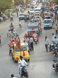 Vehicle Rally in Wadha