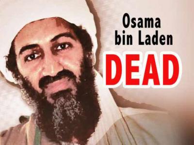 killed Osama in Laden. Osama bin Laden Killed by