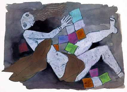 Denigration of Sati Draupadi by Anti-Hindu M F Husain