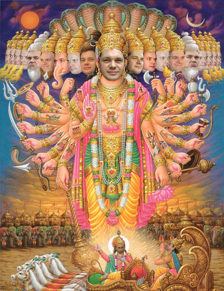Denigration of Sri Vishnu by John Helmer, Russian Journalist