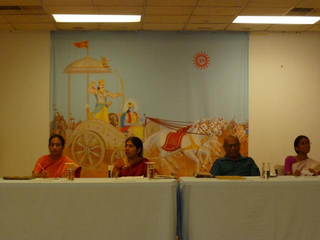 From Left : Ms. Maya Jairam; Mrs. Shilpa Kudtarkar; Mr. S Kalyanaraman; Mrs. Bhavna Shinde-Hurley