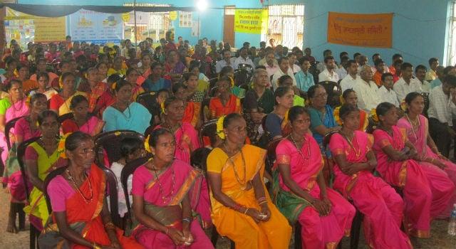 Devout Hindus present for the Hindu Dharmajagruti Sabha