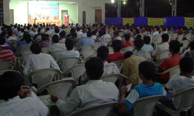 500 devout Hindus were present for Hindu Dharmajagruti Sabha