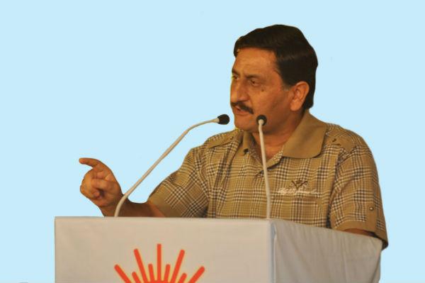 Mr. Ashwini Kumar Shrungu, President, Panun Kashmir