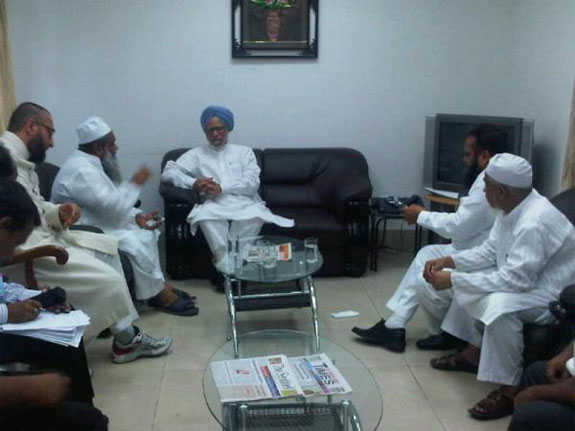 Assam : PM meets Muslim leaders on Riots issue