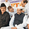 Tainted Congress Leader Krupashankar Singh attends 'Iftaar' party of Mumbai Police