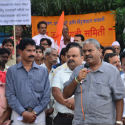 Hindus roar in Pimpri (Pune) against ban on HJS website !