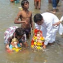 Immersion of Shri Ganesh idols done as per science at Mumbai, Sangli and Pune