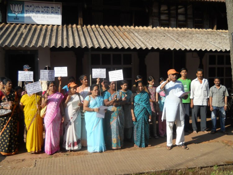 Bhojshala issue : Protest by Hindus against BJP's MP Government at Sirsi