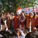 Jantar Mantar : Saints, Sages and Hindus protest against the dismantling of Ram Setu