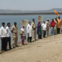 HJS activists stand guard at Khadakvasala Dam for the 12th year