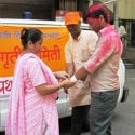 HJS creates awareness on 'Dhulivandan', extends assistance to people meeting with accident