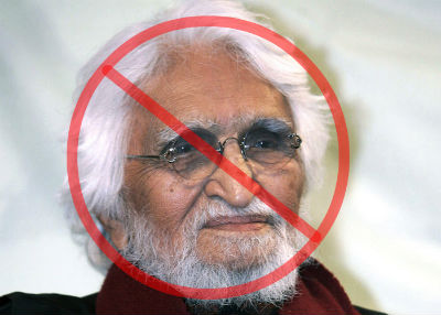 Protest : Auction of anti-national M F Husain's paintings by Asta Guru