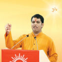 Shri. Ramesh Shinde, HJS spokesperson guides devout Hindus from South India