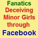 Fanatics deceiving minor girls through FB accounts are nabbed