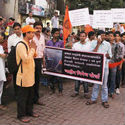 Azad Maidan riots : Protest march by 15 pro-Hindu and patriotic organizations