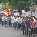 Outrage throughout Maharashtra against treachery towards Dharma !