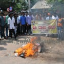 Sri Rama Sene stages protest against Shadi Bhagya Scheme !