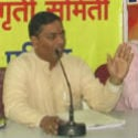 What right has the Government accompanied by cheaters to pass Anti-Dharma Bill ? – Ramesh Shinde