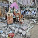 Pakistan : Hindus protest demolition of temple in Karachi