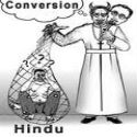 Christians' plot to convert Hindus foiled by devout Hindu organisations at Dombivali !