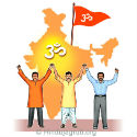 Devout Hindus' resolve to give 1 hour per day for Rashtra and Dharma !