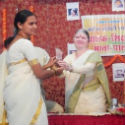 HJS activist Sou. Archana Ghanavat felicitated on International Women's Day' !