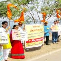 Pune : Huge response to HJS drive for protection of Khadakavasala Water Reservoir