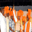 Hindu activist Shri. Milind Ekbote felicitated with 'Dharmaveer' award !