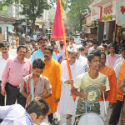 Welcome processions taken out in Mumbai on the occasion of Gudhi Padva !