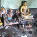 Bangladesh : 7 idols burnt as criminals set temple afire